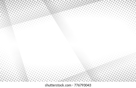 halftone white abstract background. vector design