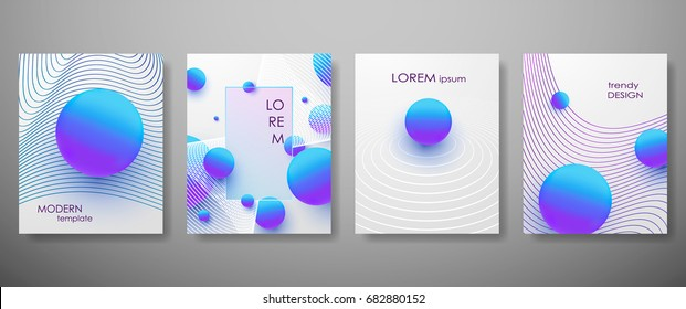 Halftone,3d, Minimal covers design,gradients, balls shapes. Tech cover,futuristic banner, future template,abstract flyer, poster,trendy presentation, minimalist brochure. Vector geometric illustration