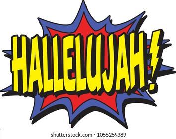 hallelujah comic burst