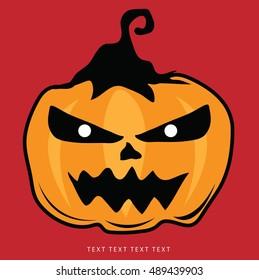 Halloween or background set in vector