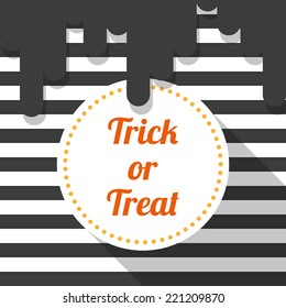 Halloween background. Trick or treat
