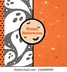 Halloween banner vector illustration