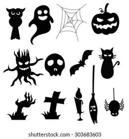 Halloween black icon