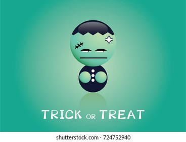 Halloween cartoon character funny cute