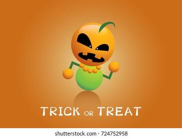 Halloween cartoon character funny cute