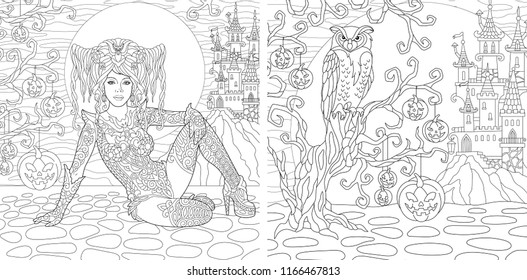 - Gothic Coloring Pages Images, Stock Photos & Vectors Shutterstock