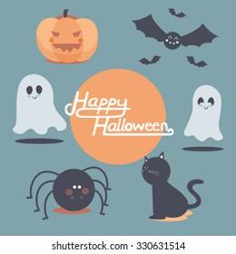 Halloween cute set