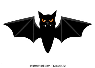 LEGO Minifigure Animal BLACK Bat Flying Halloween Creature Wings and Fangs