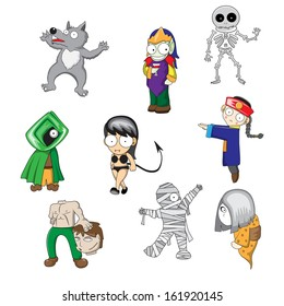 Halloween ghost cartoon, No effect