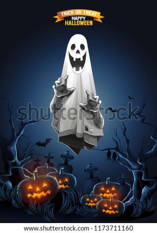 Halloween Ghost treat or