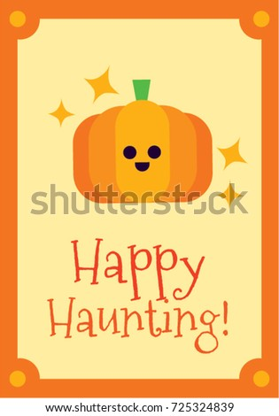 Halloween greetings pumpkin character stock vector royalty free halloween greetings pumpkin character m4hsunfo