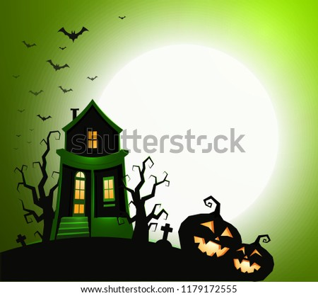 halloween holiday banner template without text stock vector royalty