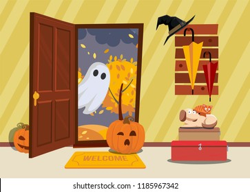 Inside Witches House Stock Illustrations, Images & Vectors