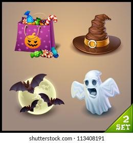 halloween icons-set 2