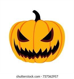 halloween isolated pumpkin