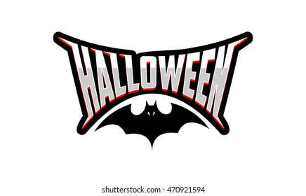 halloween logo images stock photos vectors shutterstock rh shutterstock com Scary Halloween Clip Art Scary Halloween Pictures to Color