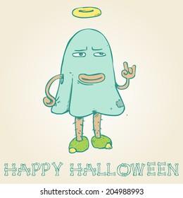 Halloween Monster Funny Man
