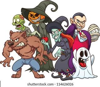Halloween Monster Images Stock Photos Vectors Shutterstock