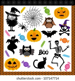 Halloween Collage Images Stock Photos Vectors Shutterstock