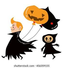 Halloween one day