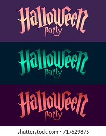 halloween party fonts