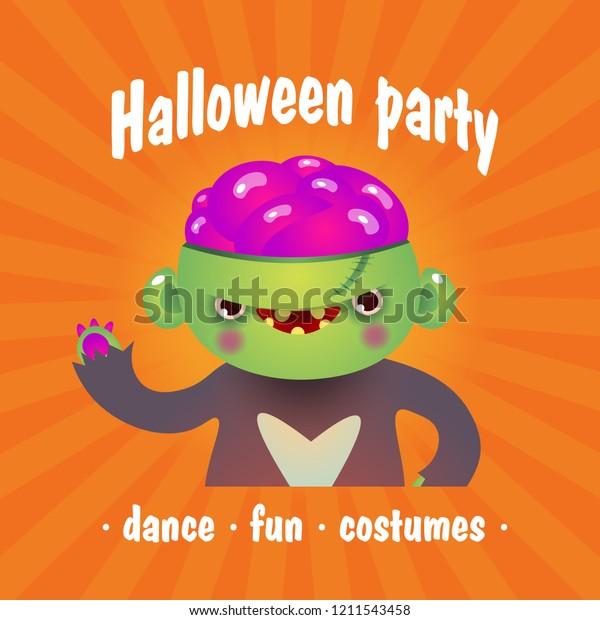 Halloween Party Frankenstein Poster Design Creative Stock Vector Royalty Free 1211543458,Free T Shirt Design Maker