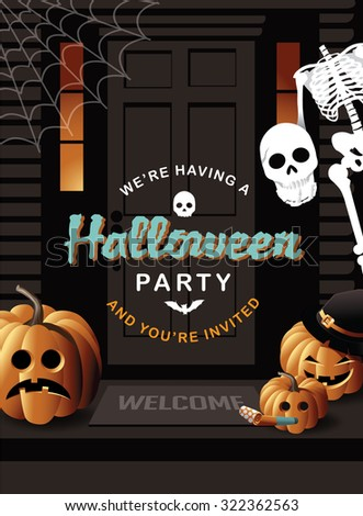Free Email Halloween Party Invitations Printable