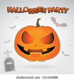 Halloween Party Vector Concept