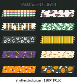 halloween patteren tape