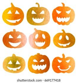 Halloween Pumpkin Fall Icon