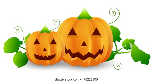 Halloween pumpkin ghost icon