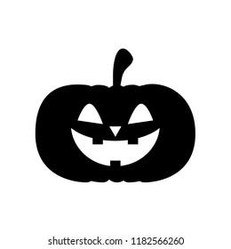 Halloween pumpkin, Happy holloween day symbol and icon vector illustration