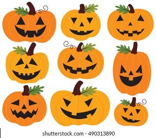 Halloween Pumpkins / Jack O'Lanterns