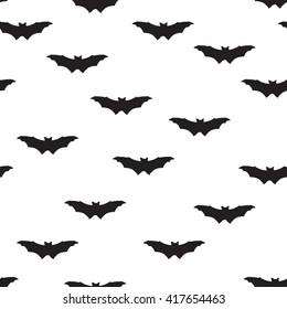 Halloween seamless pattern. Holiday Halloween background