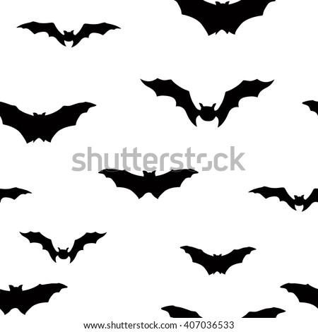 Halloween seamless pattern Holiday