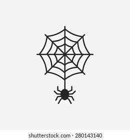halloween spider icon