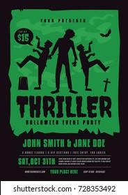 Halloween Thriller Poster