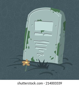 Halloween tomb. Vector tombs icons for web page backgrounds, postcards, greeting cards, invitations, pattern fills, surface textures.
