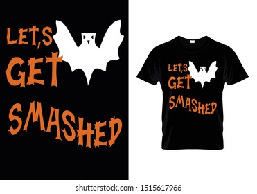 Halloween t-shirt template For 2019