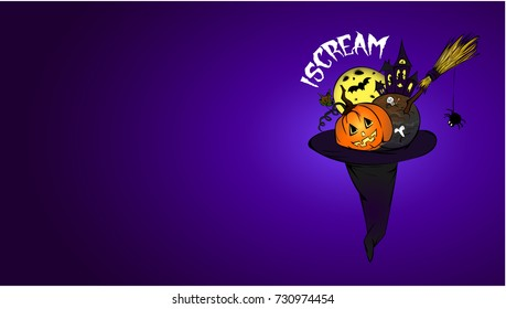 Halloween wallpaper. October holiday