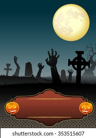 Halloween Zombie Arms-Raise your hands who wants invitation to the Halloween party
