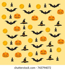 Haloween background Themes Vector