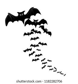 Haloween Bat Vector