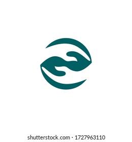 Hand Care Logo Template vector icon Business - Vector