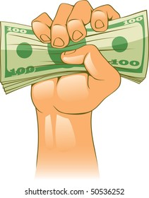 Hand wIth cash