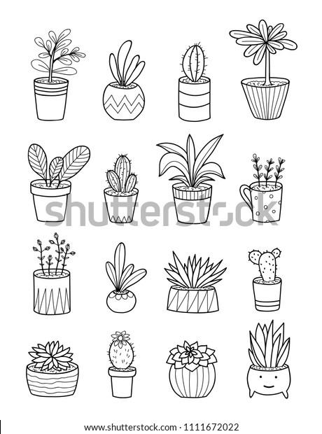 Flower Pot Coloring Pages - GetColoringPages.com | 620x460