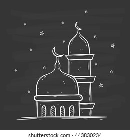 Mosque Drawing Images Stock Photos Vectors Shutterstock