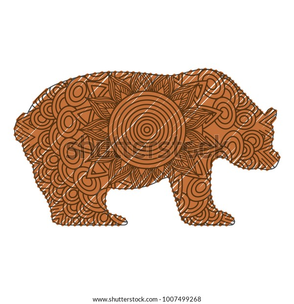 A Grizzly Bear Coloring Page Is Exciting! | 620x600