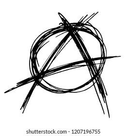 Hand Drawn Anarchy Sign