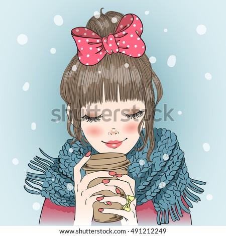 hand-drawn-beautiful-cute-girl-450w-491212249 Methods for Choosing the Best Ukraine Brides Apparel